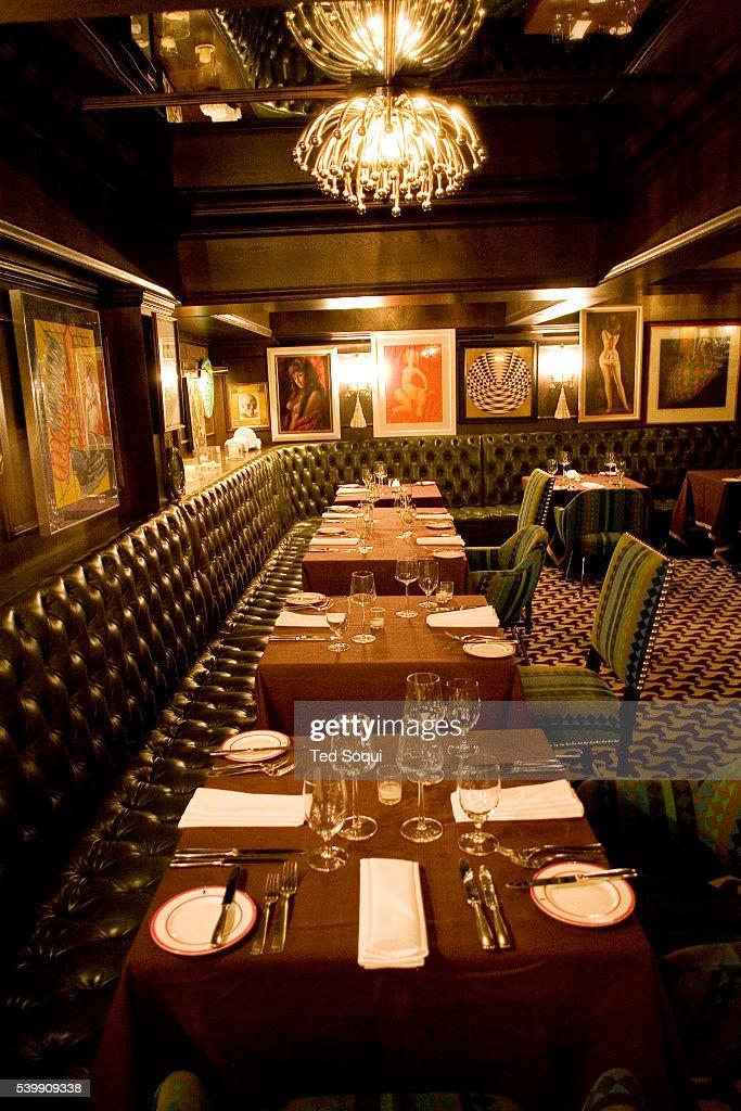 Inside view of mr parker 39 s restaurant at the parker hotel for Hotel design genes
