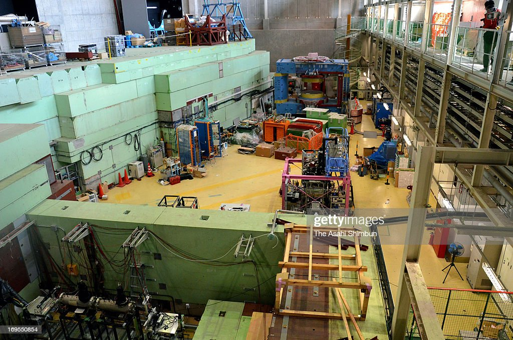 Inside view of the Hadron Experimental Facility of the Japan Proton Accelerator Research Complex (J-PARC) on May 25, 2013 in Tokai, Ibaraki, Japan. More than 30 researchers were exposed at its Hadron Experimental Facility in Tokai Village in Ibaraki Prefecture, this accident again highlights the sloppy management of nuclear facility in Japan.