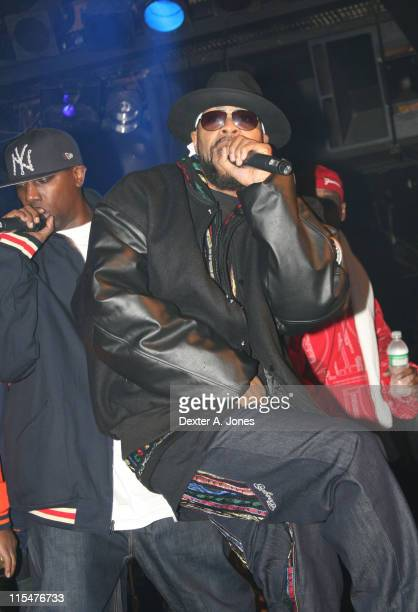 Inspectah Deck and UGod of WuTang Clan perform live at Toad's Place on January 13 2008 in New Haven Connecticut