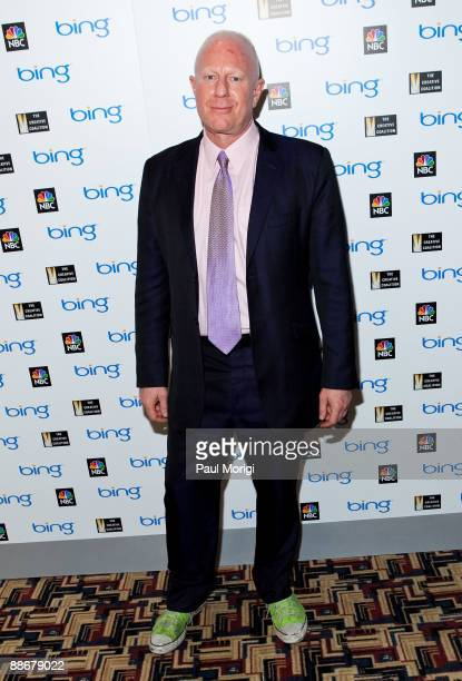 Inspirational character of 'The Philanthropist' Bobby Sager arrives at the premiere of NBC's 'The Philanthropist' hosted by The Creative Coalition at...