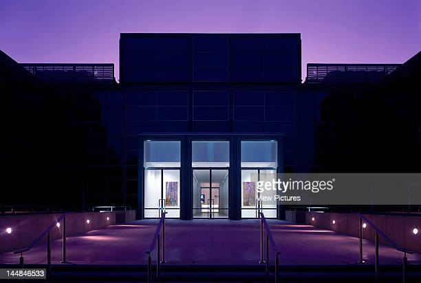 Inspired Easthampstead Road Bracknell Berkshire United Kingdom Architect Collett And Farmer Architects Front Dusk Inspired Refurbished By Collett...