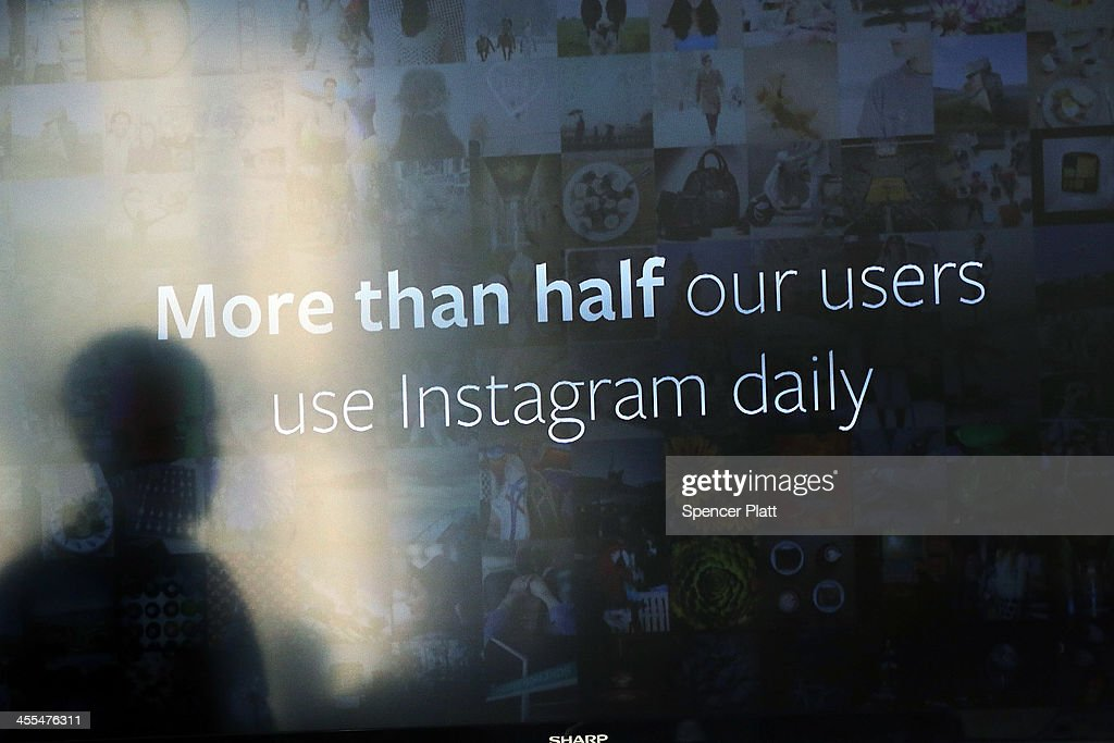 Instagram CEO <a gi-track='captionPersonalityLinkClicked' href=/galleries/search?phrase=Kevin+Systrom&family=editorial&specificpeople=7804585 ng-click='$event.stopPropagation()'>Kevin Systrom</a> is reflected on a screen while he speaks at a news conference where he intruduced Instagram Direct on December 12, 2013 in New York City. Instagram Direct will allow users of the photo-based social networking site to share images with specific friends or followers. Instagram Direct will let you send photos and videos directly to up to 15 friends at once.