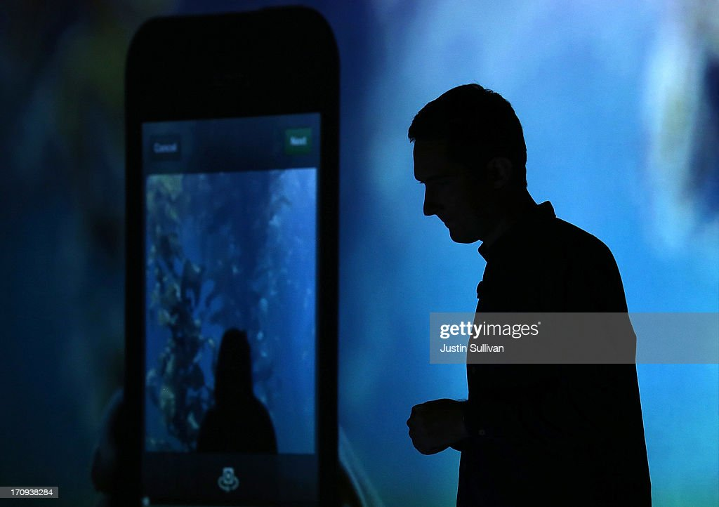 Instagram CEO Kevin Systrom speaks during a press event at Facebook headquarters on June 20, 2013 in Menlo Park, California. Systrom announced that Facebook's photo-sharing subsidiary Instagram will now allow users to take and share video.