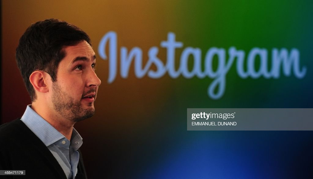 Instagram co-founder Kevin Systrom addresses a press conference in New York, December 12, 2013. Instragram unveiled Instagram Direct, its own messaging system that will allow users to send photos directly to their friends through the service. AFP PHOTO/Emmanuel Dunand