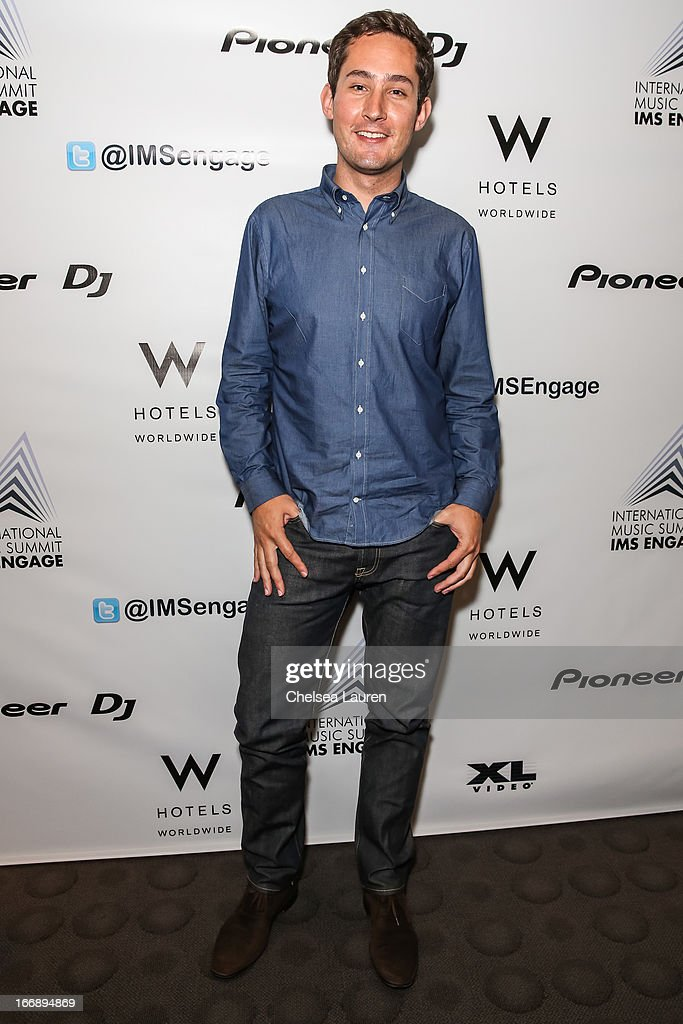 Instagram founder Kevin Systrom attends IMS Engage in partnership with W Hotels Worldwide at W Hollywood on April 17, 2013 in Hollywood, California.
