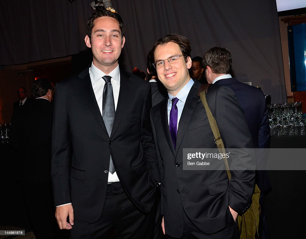 Instagram founders Kevin Systrom and Mike Krieger attend the 16th Annual Webby Awards on May 21, 2012 in New York City.