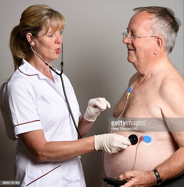 Installing Ambulatory Ecg Monitor To Overweight Patient