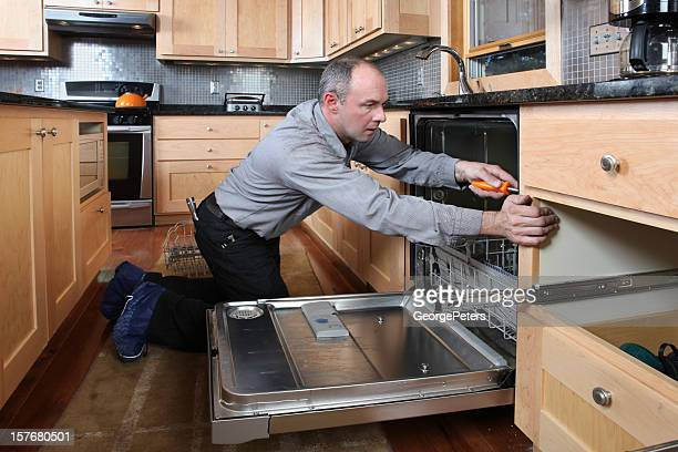 Installing Energy Efficient Dishwasher