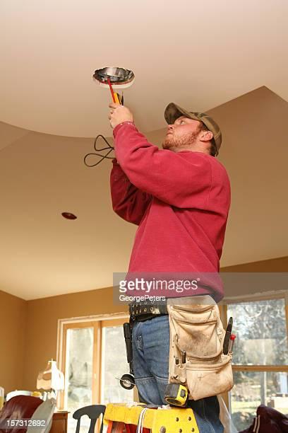 Installing Light Fixture
