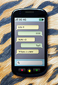 Instant messaging on mobile phone