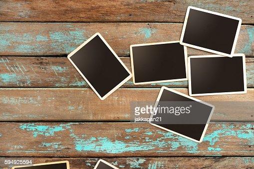 instant photo : Stock Photo