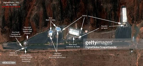 Institute for Science and International Security analysis using DigitalGlobe imagery is showing renewed activity at a site at the Parchin military...