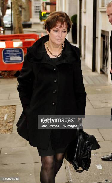 Institute of Grocery Distributors Chief Executive Joanne DenneyFinch arriving at an emergency meeting with the Food Standards Agency and retailers at...