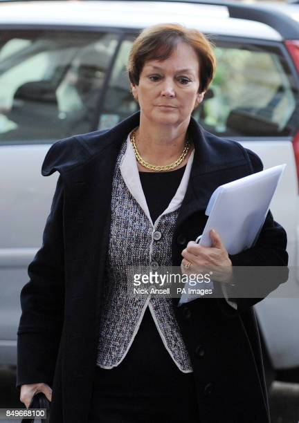 Institute of Grocery Distributors Chief Executive Joanne DenneyFinch arrives for a meeting with Environment Secretary Owen Paterson and other...
