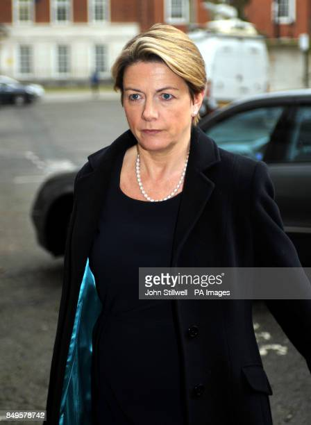 Institute of Grocery Distributors President Fiona Dawson arriving at an emergency meeting with the Food Standards Agency and retailers at Defra...