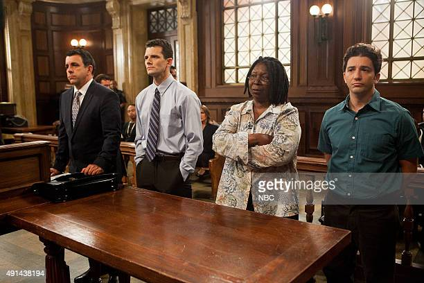 UNIT 'Institutional Fail' Episode 17004 Pictured Joseph Lyle Taylor as Counselor D'Angelo Josh Marcantel as Dale Sheridan Whoopi Goldberg as Janette...