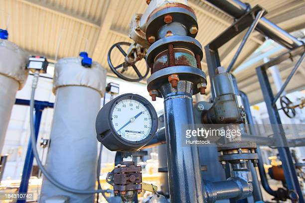 Instrumentation and control valves on cooling system for electric cogeneration plant