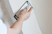 instruments over plasterboard surface