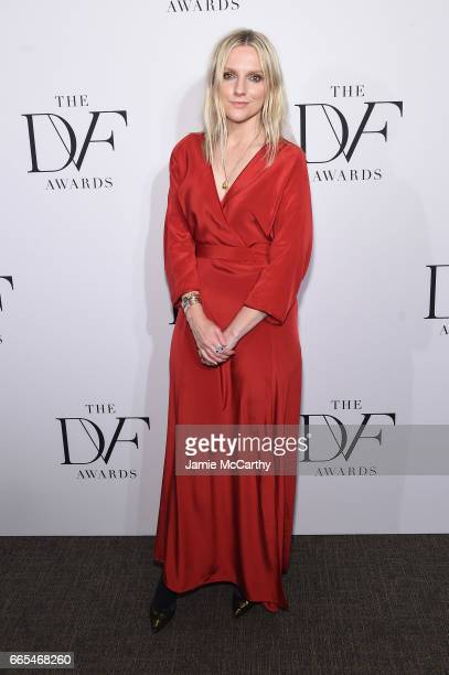 InStyle editorinchief Laura Brown attends the 2017 DVF Awards at United Nations Headquarters on April 6 2017 in New York City