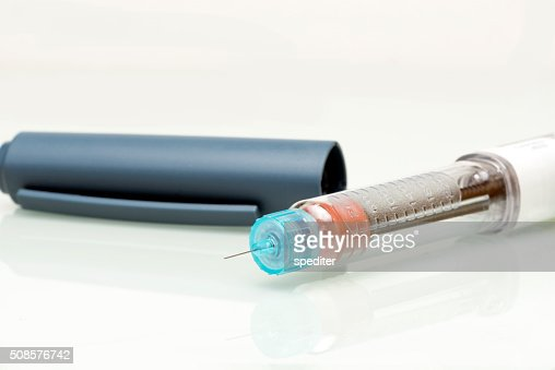insulin pen : Stock-Foto