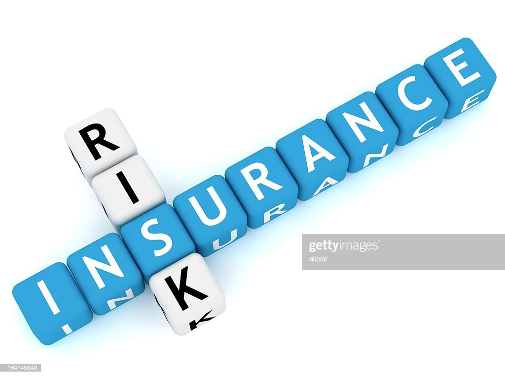 Versicherung Kreuzworträtsel : Stock-Foto