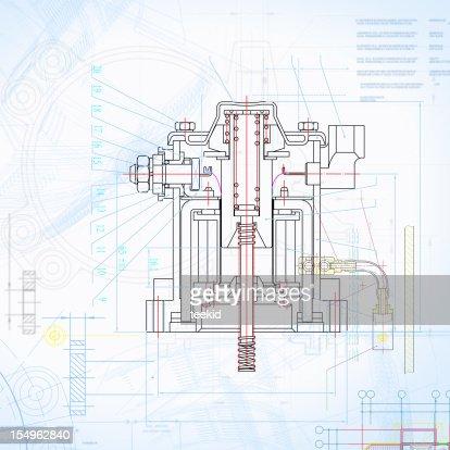 Insustry Blueprint Outline Design Paperwork Document