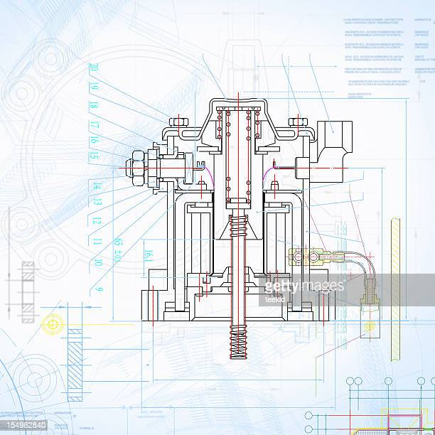Design imprimé en contour Insustry documents Document