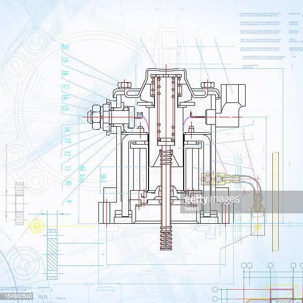 Insustry Blueprint Kontur-Design Formularen Dokumenten