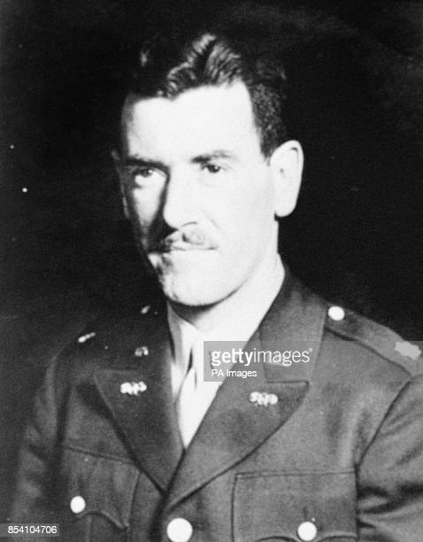US Intelligence Officer Colonel Murray Sanders who was assigned the task of investigating rumors about the Japanese bioweapons program
