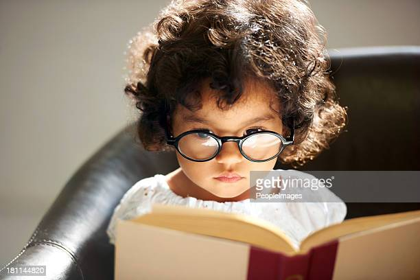 Intelligente little bookworm