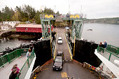 Inter island ferry boat in the San Juan islands, Washington State, USA
