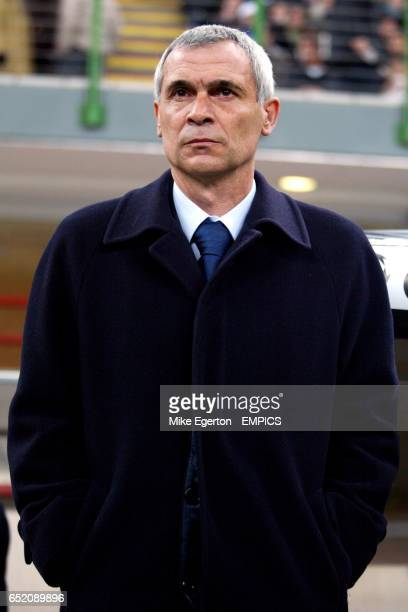 Inter Milan's coach Hector Raul Cuper