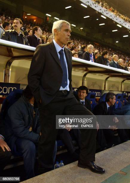 Inter Milan's coach Hector Raul Cuper returns to Valencia