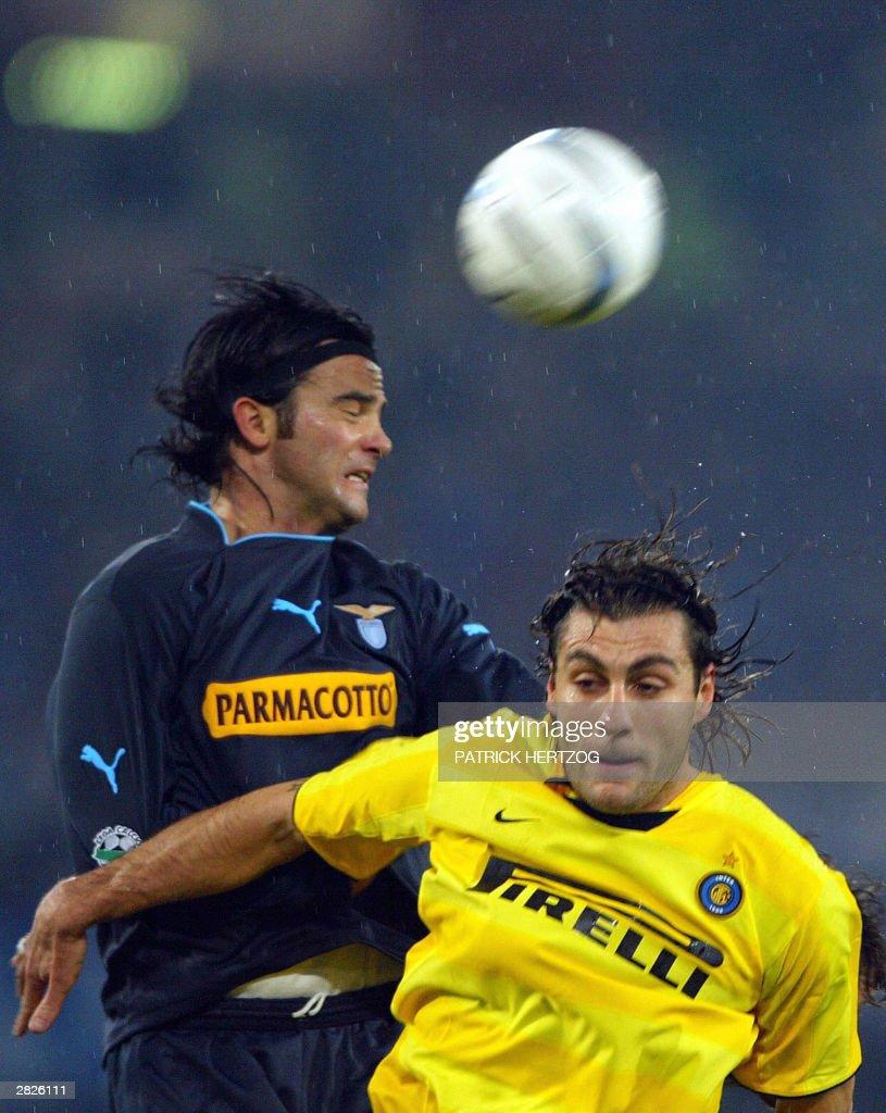 Inter Milan s forward Christian Vieri R