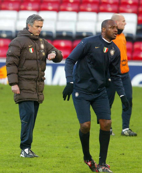 Inter Milan's Portuguese manager Jose Mo : News Photo