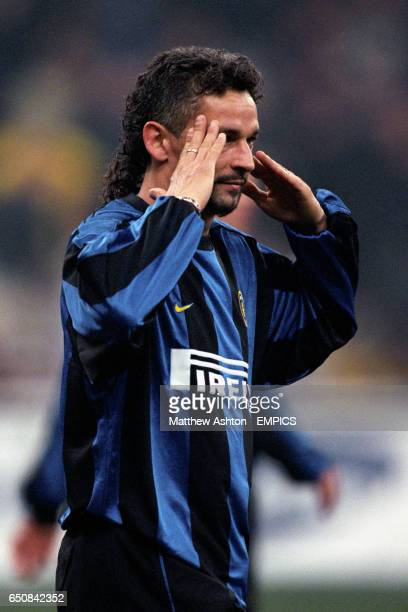 Inter Milan's Roberto Baggio