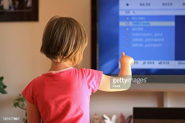 Téléviseur interactif pour enfants