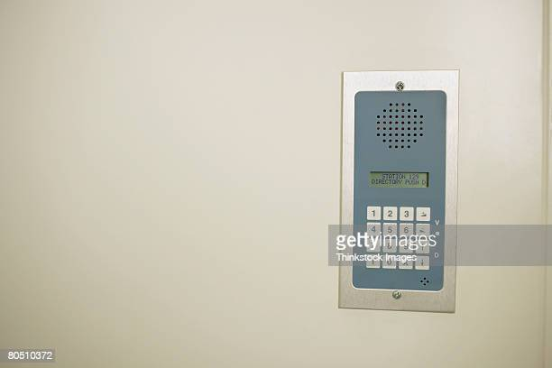 Intercom keypad
