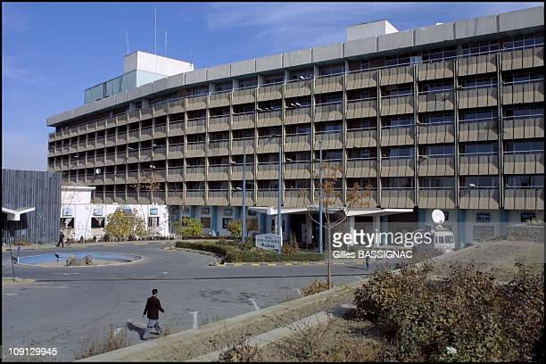 Intercontinental Hotel In Kabul On November 26Th 2001 In Kabul Afghanistan Suspecting Suicide Bomb Attack Against Occidental Journalists The Police...