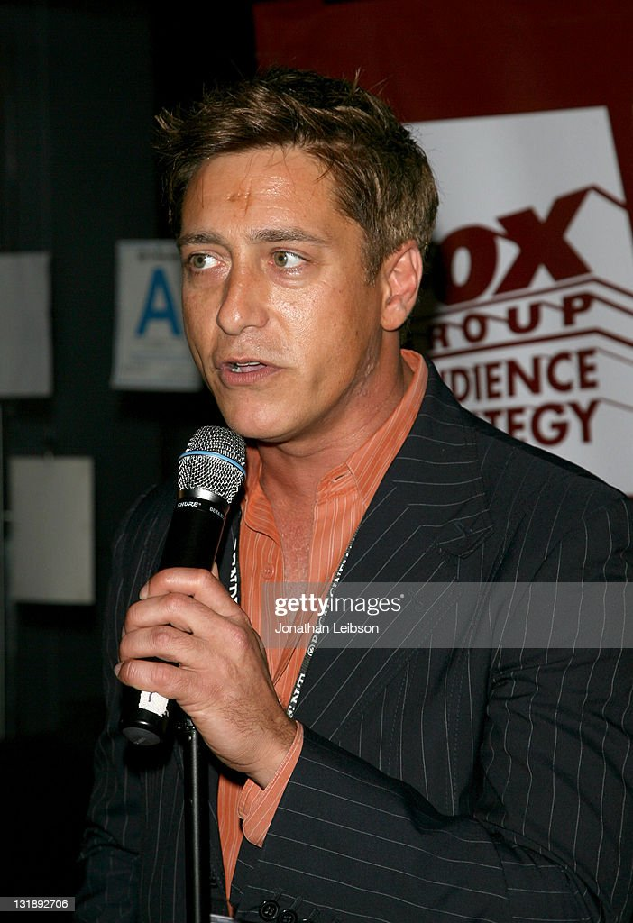Interim Exec Director Sean McManus speaks at the Alfred P Sloan Fellows Industry Mixer during the 2011 Los Angeles Film Festival at Katsuya on June...