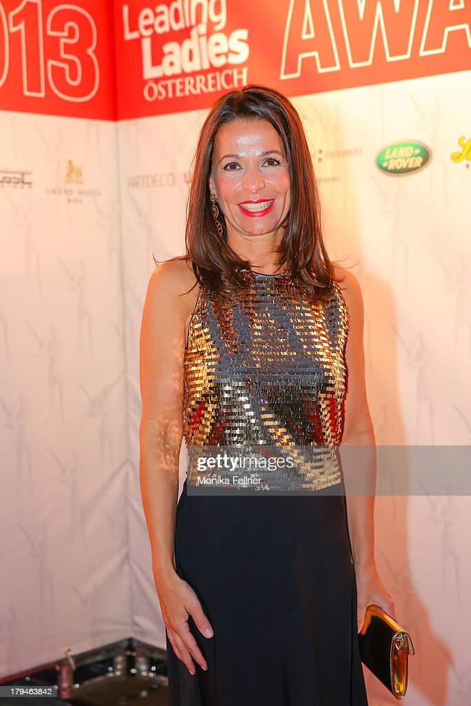 Interio Austria manager Janeth Kath attends the Leading Ladies Awards 2013 at Belvedere Palace on September 3, 2013 in Vienna, Austria.