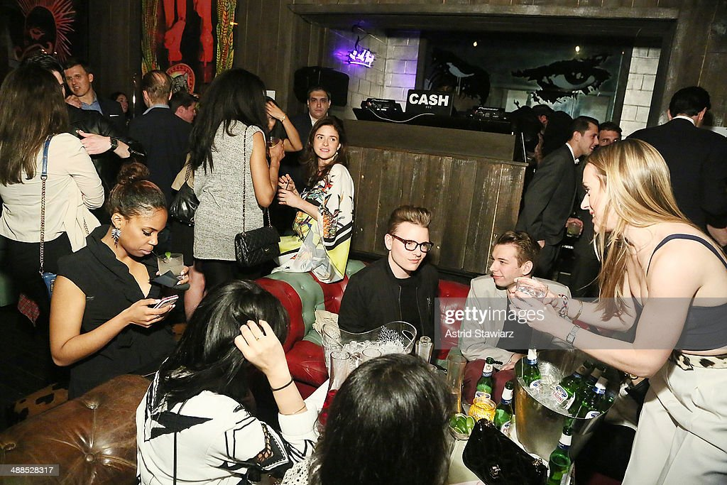 Interior atmosphere of the Electric Room during the New York Observer's 'Scene' Party at the Electric Room at Dream Downtown on May 6 2014 in New...