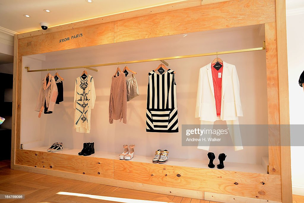 Interior atmosphere overview during the Majed by Alexa Chung SS13 Event on March 27, 2013 in New York City.