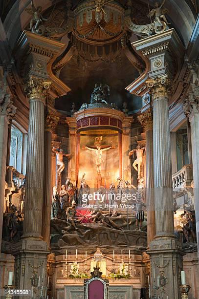 Interior, Bom Jesus do Monte sanctuary, Braga