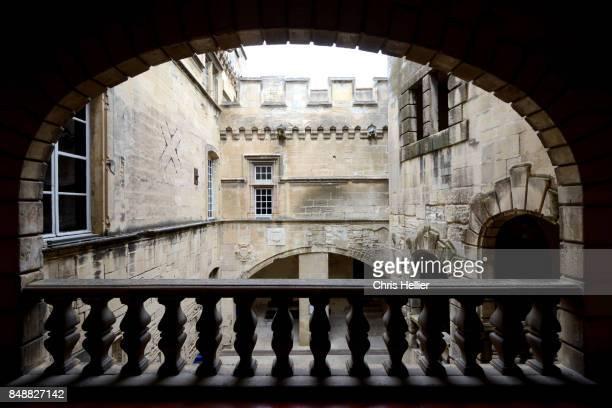 Interior Courtyard Réattu Museum (c15th) Arles Provence