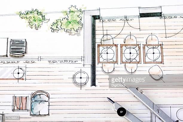 Interior Decorations Drawing
