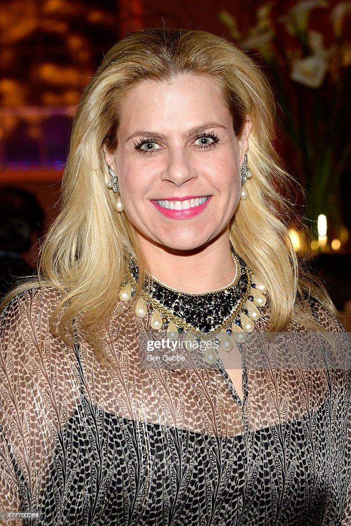 Interior designer Alexa Hampton attends the New York School Of Interior Design 2014 Benefit Dinner at 583 Park Avenue on March 10, 2014 in New York City.