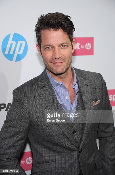Interior designer author TV host and television personality Nate Berkus attends the red carpet at the Sprout by HP and HP Multi Jet Fusion 3D Printer...