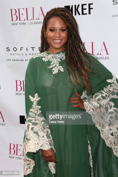 Interior designer Breegan Jane attends the BELLA Los Angeles Summer Issue Cover Launch Party at Sofitel Los Angeles At Beverly Hills on June 23 2017...
