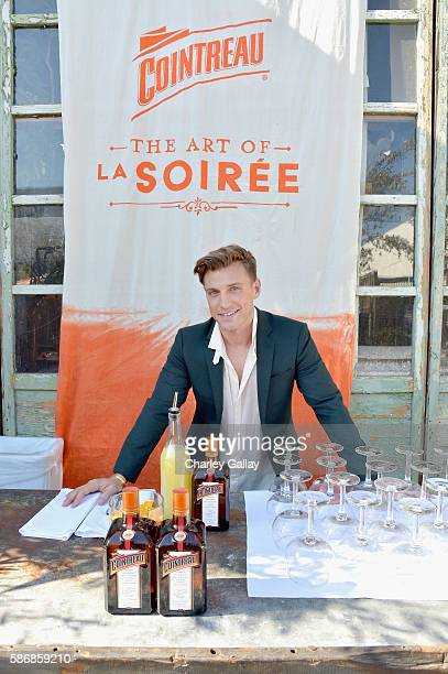 Interior designer Jeremiah Brent attends the Cointreau x Jeremiah Brent Soiree at Big Daddy's Antique Shop on August 6 2016 in Los Angeles California